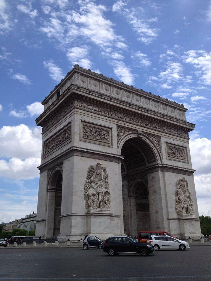 Travel Arch de Triumph Paris France