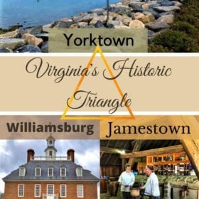 Historic Triangle, Virginia, Yorktown, Jamestown, Colonial Williamsburg