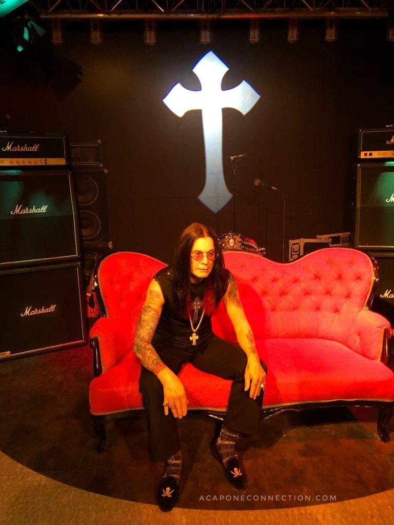 Ozzy Osbourne Madame Tussauds Wax Museum