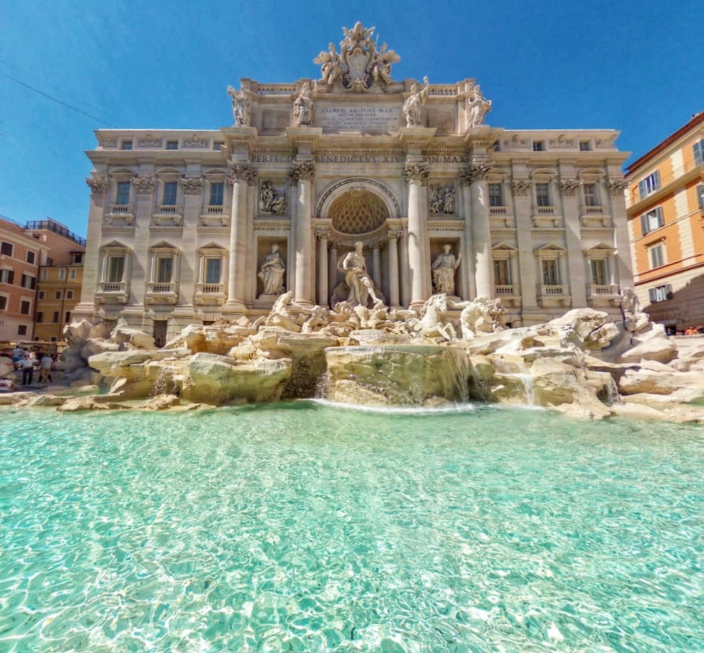 Virtual Trevi Fountain Rome