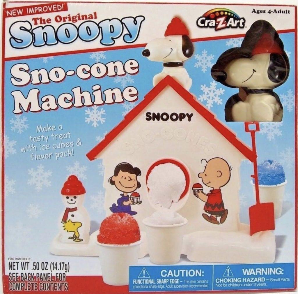 Snoopy Sno Cone