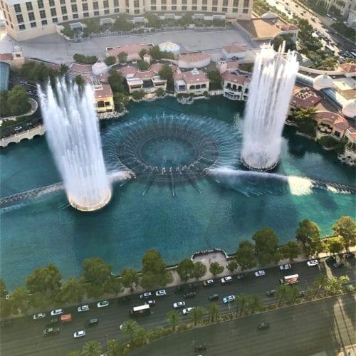 Las Vegas Bellagio Fountainn