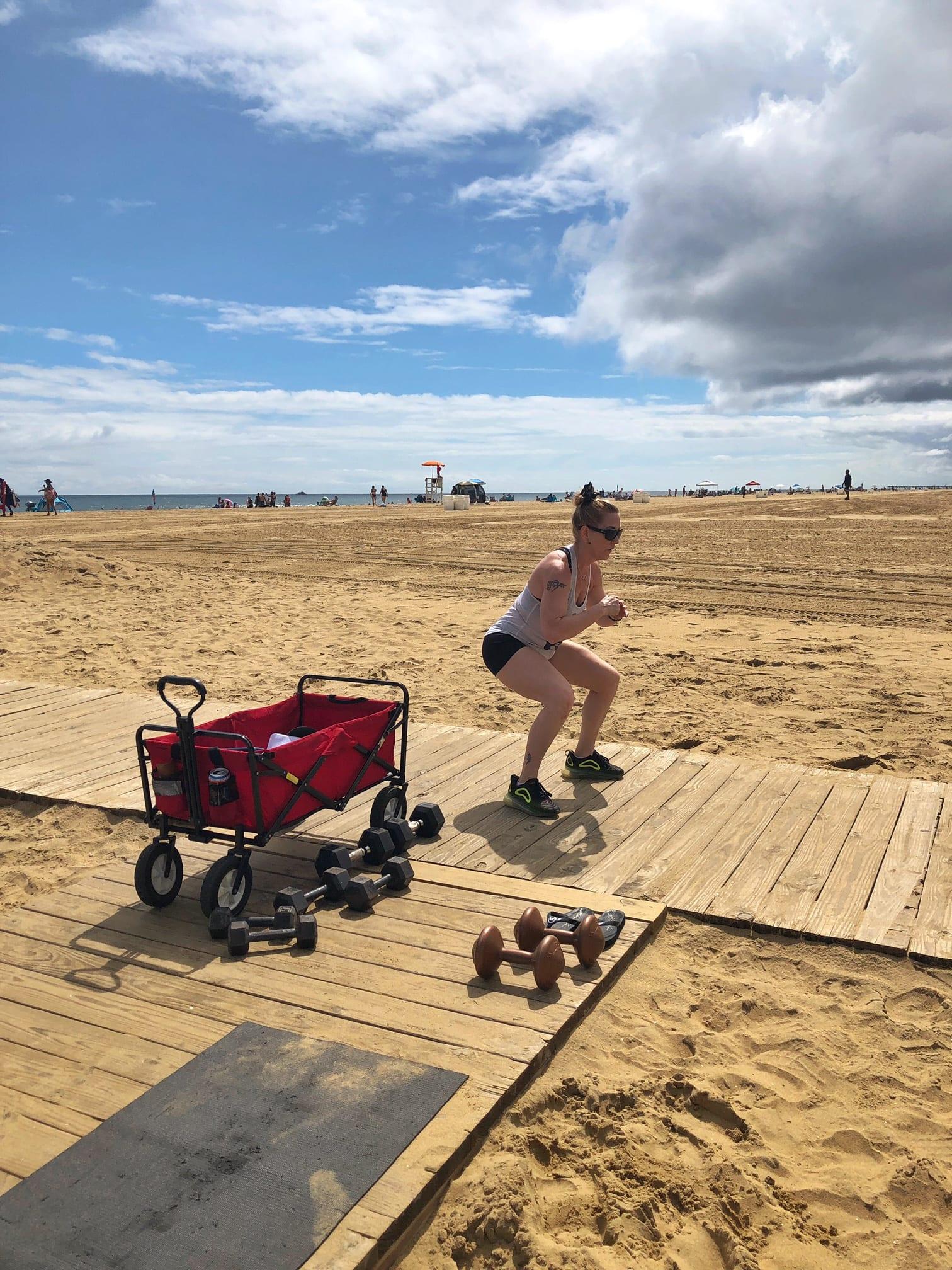 Virginia Beach workout