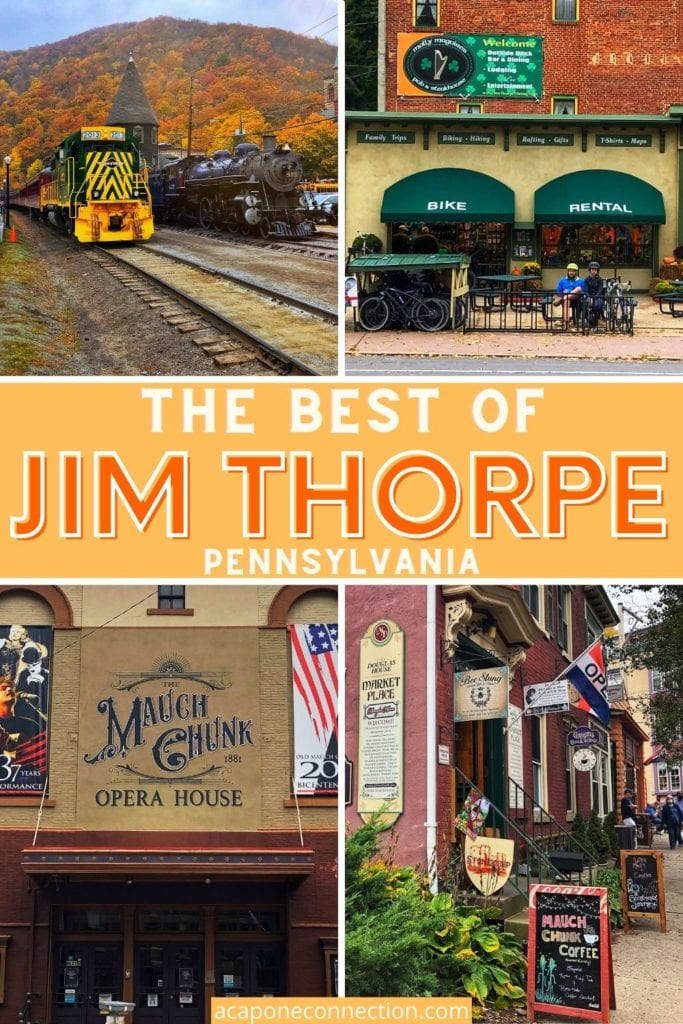 The Best of Jim Thorpe Pennsylvania