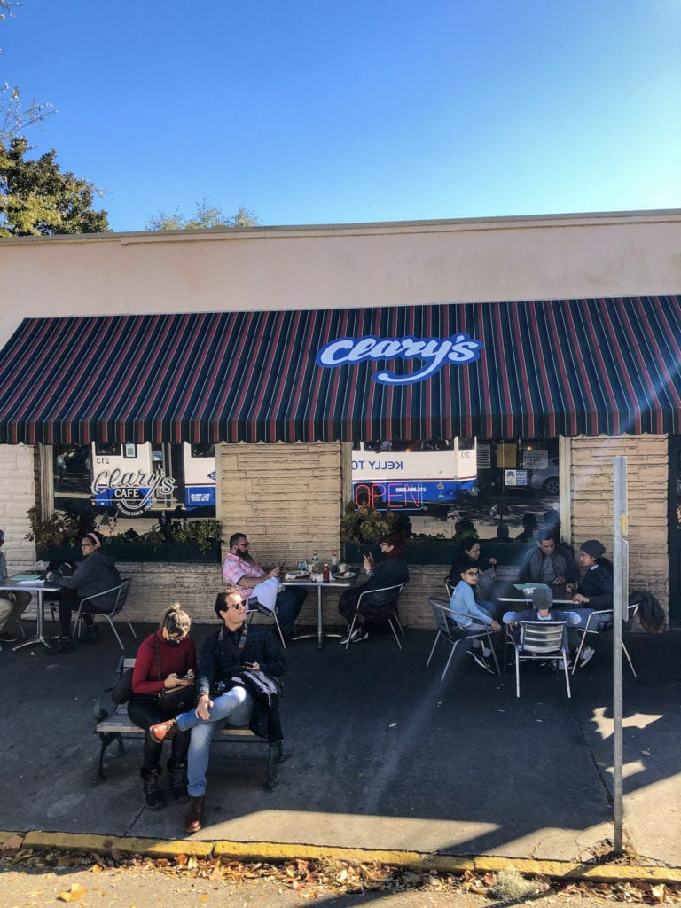 Clarys Restaurant Savannah Georgia