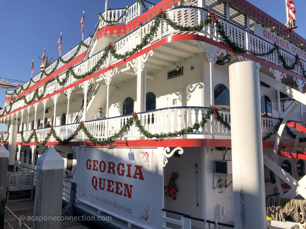 Savannah Georgia Queen Riverboat