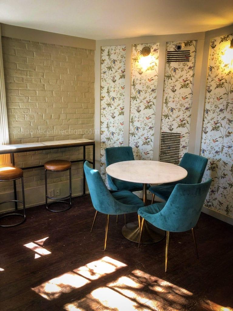 Mirabelle's Café Interior