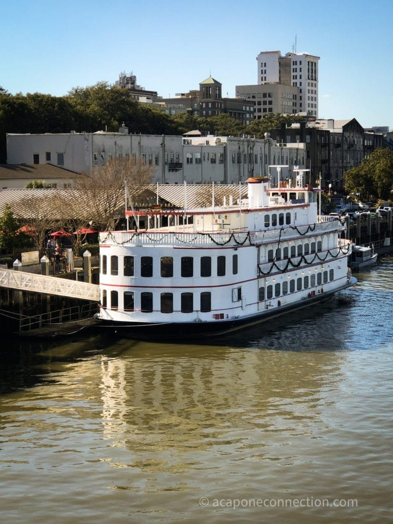 Savannah Georgia Riverboat Cruise