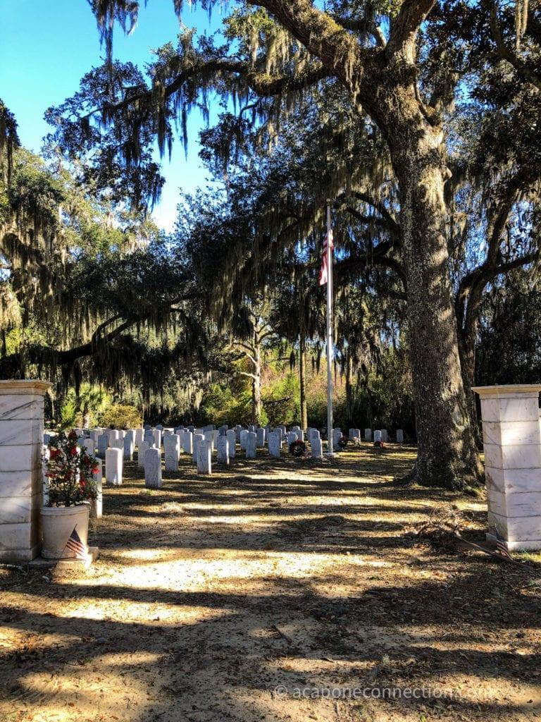 Soldiers Graves Savannah Georgia