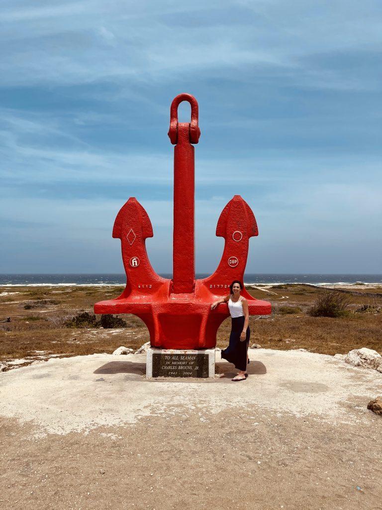 Big Red Anchor Aruba